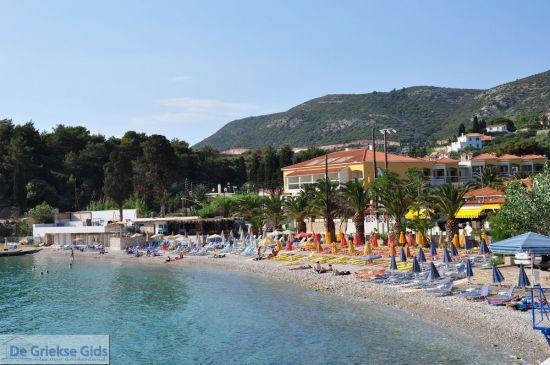 Samos stad strand